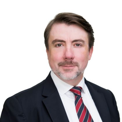 Portrait of Derek Woodhouse