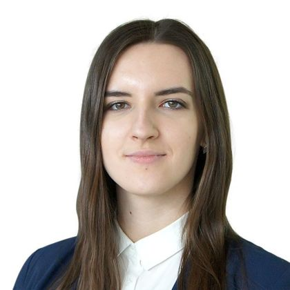 Portrait of Yuliia Pidlisna, CMS
