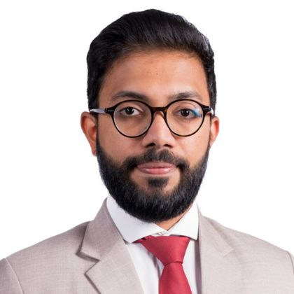 Portrait of Anand Ayyappan Udayakumar