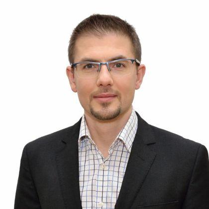 Portrait of Márton Domokos