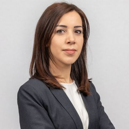 Portrait of Aziza El Khemalli