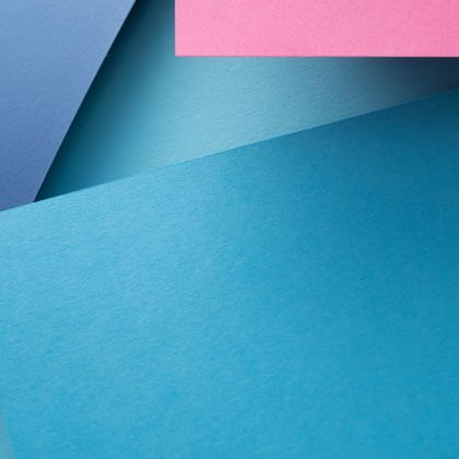 abstract blue purple and pink blocks