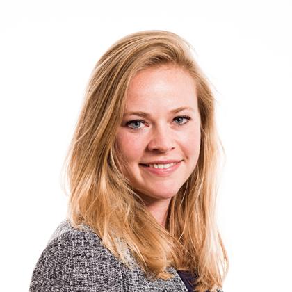 Portret van Larissa Verzijden