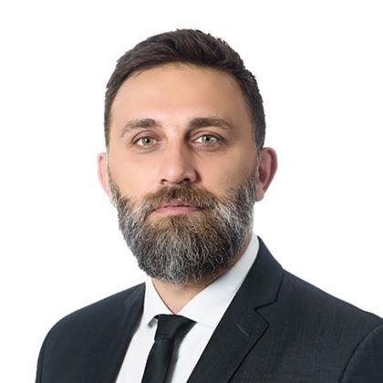 Portrait of Srđan Janković
