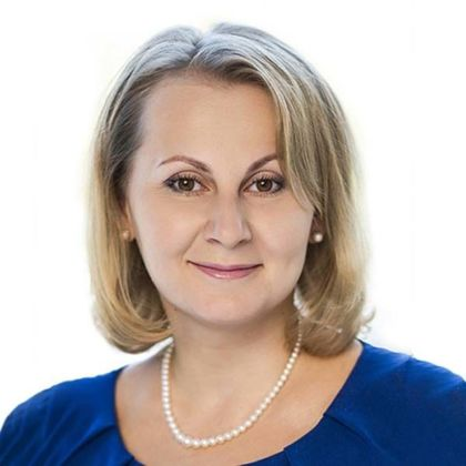 Portrait of Evgenia Prudko