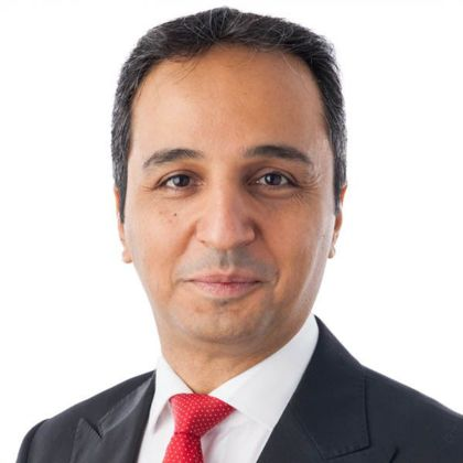 Portrait of Amir Kordvani