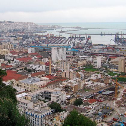 overview of algiers capital city of algeria country