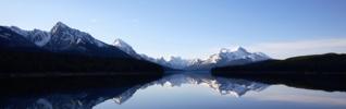 Montagne lac eau