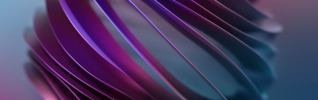 abstract blue and purple wave