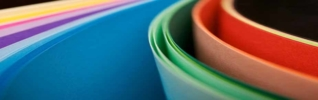 Coloured paper bends 925x290