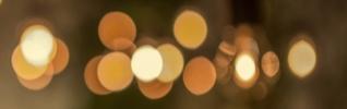 Brown abstract lights