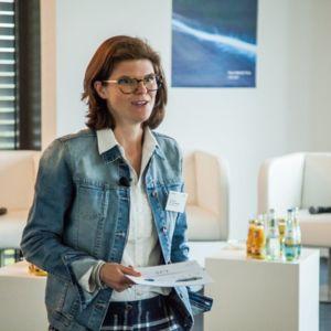 Dr. Daniela Gerd tom Markotten, Leiterin des Bereiches Digital Solutions and Services, Mercedes-Benz Trucks